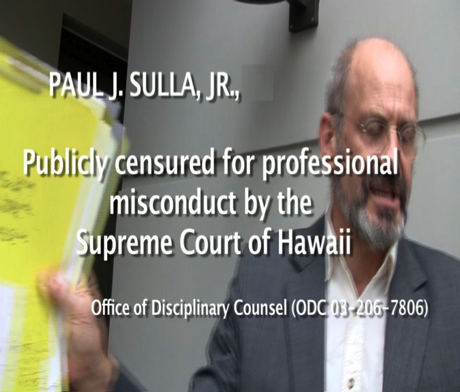 Hawaii Supreme Court Chief Disciplinarian, Attorney Bradley Tamm, Advised to Resign in Widening Public Corruption Scandal