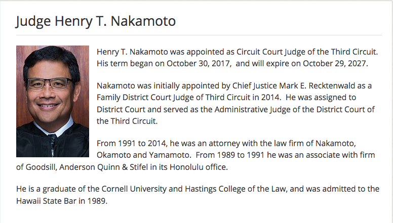 Hawaii Intermediate Court of Appeals Led by Chief Judge Lisa M