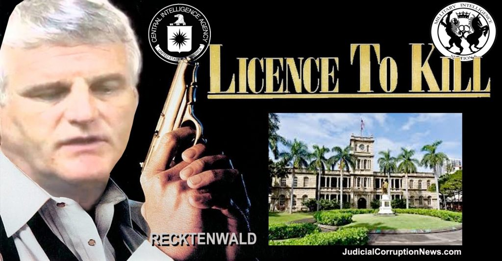 Mark Recktenwald proposes 'License to Kill'