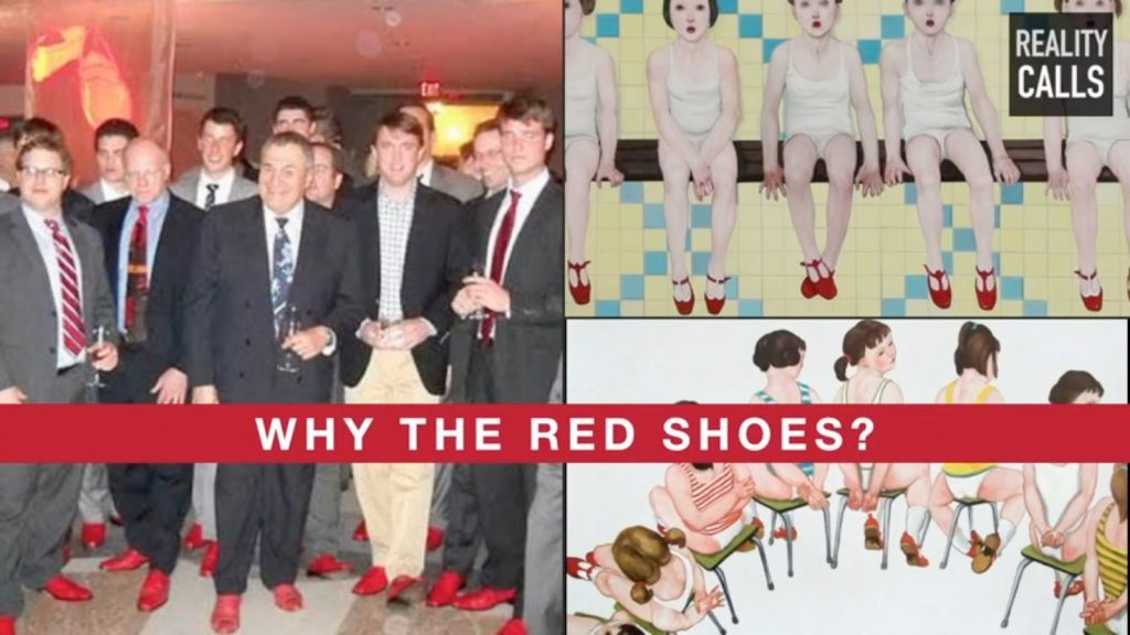 Red shoes mean pedophilia