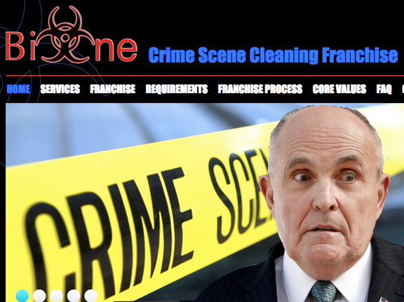 Rudy Giuliani Trump Deep State